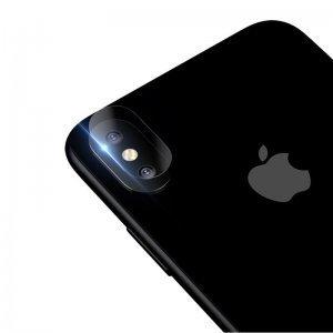 Защитное стекло Baseus прозрачное для камеры iPhone X/XS