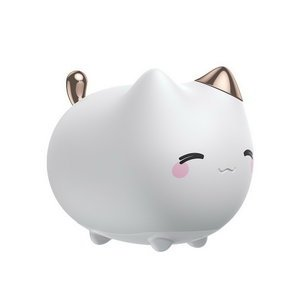 Ночник Baseus Cute Series Kitty Silicone Night Light белый