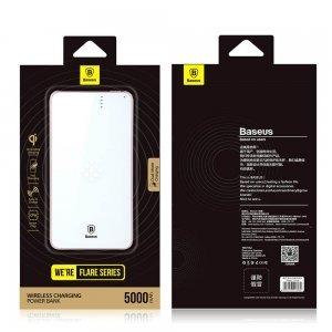 Беспроводное зарядное устройство Baseus Flare Series розовое + белое