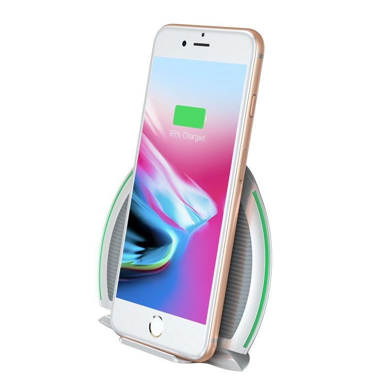 Беспроводное ЗУ Baseus Foldable Multifunction Wireless Charger белое