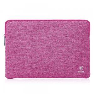 """Чехол (карман) Baseus розовый для ноутбуков 13"""""""