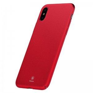 Чехол Baseus Meteorite красный для iPhone X