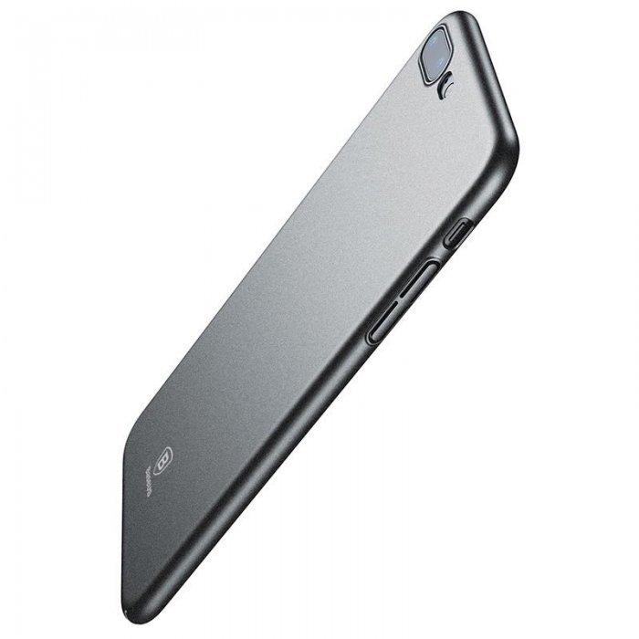 Чехол Baseus Meteorite серый для iPhone 8 Plus/7 Plus