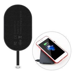 Беспроводной трасмиттер для iPhone Baseus Microfiber Wireless Charging Receiver черный