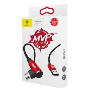 Micro-USB кабель Baseus MVP Elbow 1.5A 2M красный