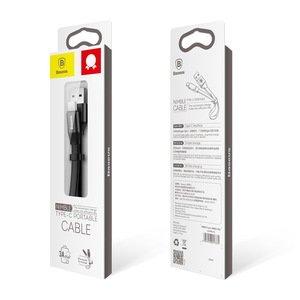 Type-C кабель Baseus Nimble 2A, 23CM черный
