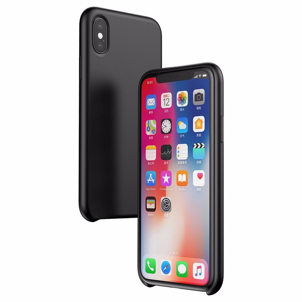 Чехол Baseus Original LSR черный для iPhone X/XS