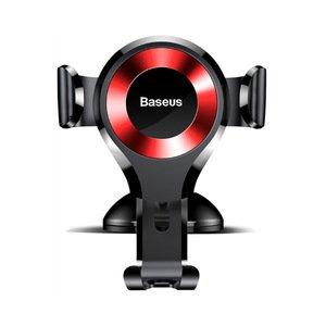Автомобильный держатель Baseus Osculum Type Gravity Car Mount красный + чёрный