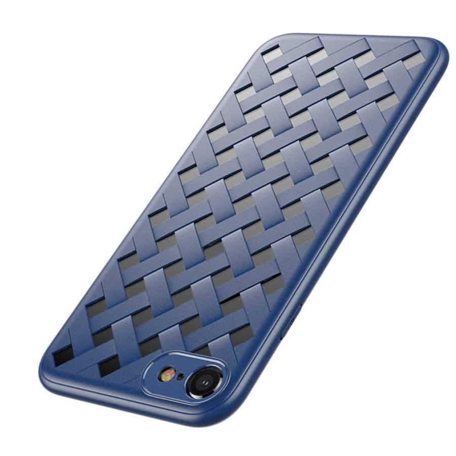 Чехол Baseus Paper-Cut синий для iPhone 8/7