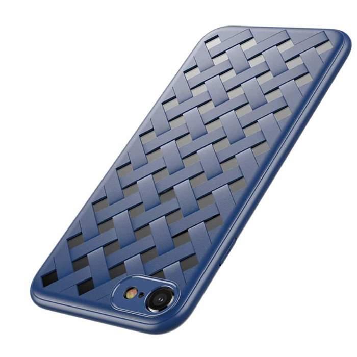 Чехол Baseus Paper-Cut синий для iPhone 8/7/SE 2020