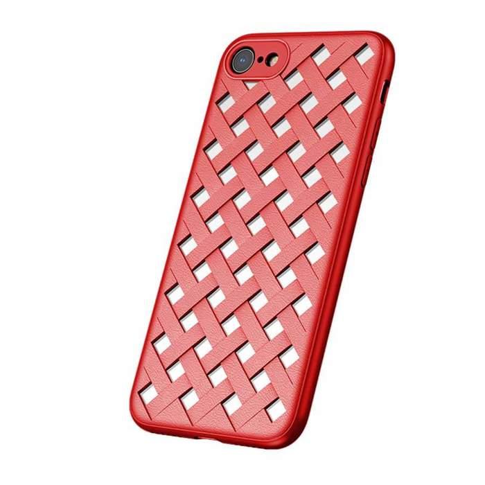 Чехол Baseus Paper-Cut красный для iPhone 8/7/SE 2020