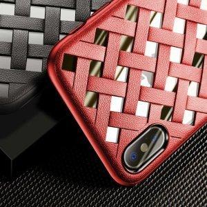 Чехол Baseus Paper-Cut красный для iPhone X