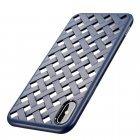 Чехол Baseus Paper-Cut синий для iPhone X