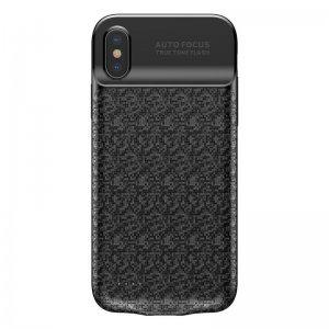 Чехол-аккумулятор Baseus Plaid Backpack 3500mAh черный для iPhone X