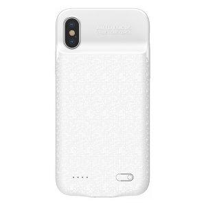 Чехол-аккумулятор Baseus Plaid Backpack 3500mAh белый для iPhone X