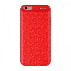 Чехол-аккумулятор Baseus Plaid Backpack 5000mAh красный для iPhone 8/7