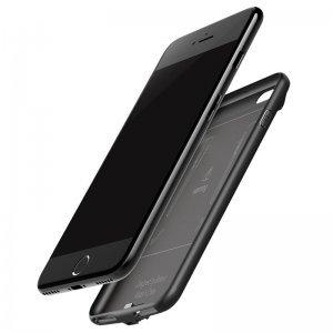 Чехол-аккумулятор Baseus Plaid Backpack 5000mAh чёрный для iPhone 6/6S