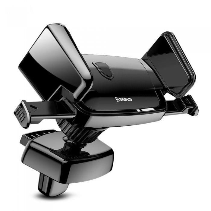 Автомобильный держатель Baseus Robot Air Vent черный