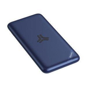 Внешний аккумулятор Baseus S10 Bracket 10W Wireless Charger Power Bank 10000mAh 18W синий