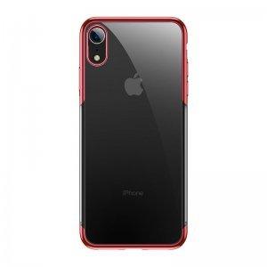 Силиконовый чехол Baseus Shining красный для iPhone XR