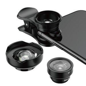 Набор объективов Baseus Short Videos Magic Camera Professional черный
