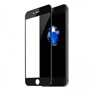 Защитное стекло Baseus Silk-screen 3D Arc черное для iPhone 7/8