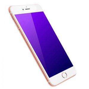 Защитное стекло для Apple iPhone 6/6S - Baseus Silk-screen Anti-Blue Light 0.2мм, глянцевое, белое