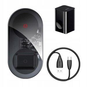 Беспроводное ЗУ Baseus Simple 2-in-1 Wireless Charger Turbo Edition 24W черное