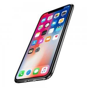 Силиконовый чехол Baseus Soft черный для iPhone X