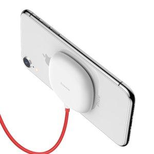 Беспроводное зарядное устройство Baseus Suction Cup белое