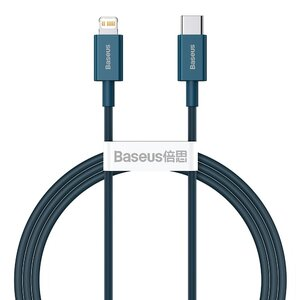 Кабель Baseus Superior Series Fast Charging Data Cable Type-C to Lightning PD 20W 1m (CATLYS-A03) синій