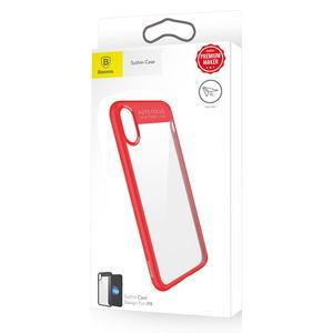 Чехол Baseus Suthin красный для iPhone X/XS