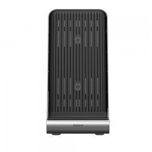 Беспроводное зарядное устройство Baseus Vertical Desktop черное