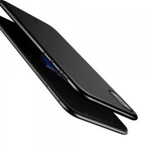 Чехол Baseus Wing черный для iPhone X/XS