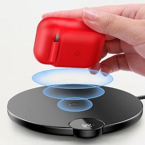 Чехол для беспроводной зарядки Baseus красный для Apple AirPods