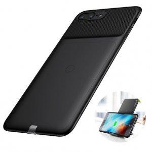 Чехол для беспроводной зарядки Baseus черный для iPhone 7 Plus