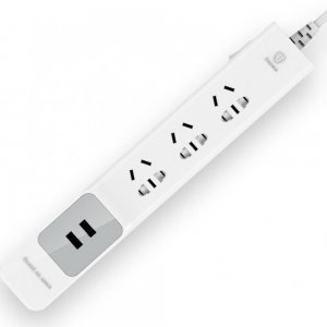 Сетевой фильтр Baseus Anpin series power strip USB белый