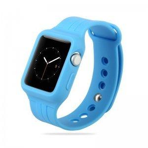 Ремешок Baseus Fresh Color Plus синий для Apple Watch 38мм
