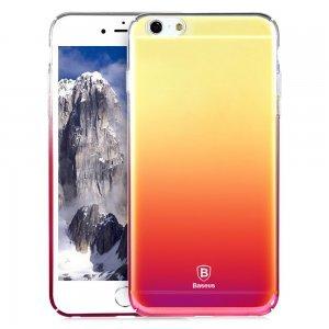 Полупрозрачный чехол Baseus Glaze розовый для iPhone 6/6S
