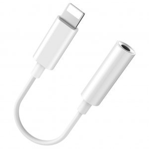Кабель Baseus L30 Simple Apple Connector To 3.5mm Music Adapter белый