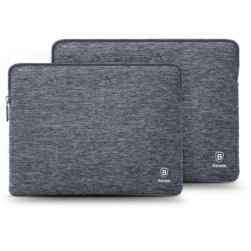"Чехол (карман) Baseus серый для ноутбуков 15"""