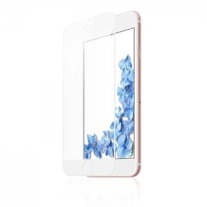 Защитное 3D стекло Baseus Blue Light, 0.23мм, защита глаз, с белой рамкой для iPhone 6/6S