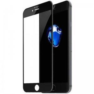 Защитное 3D стекло Baseus Silk printing, черное для iPhone 6/6S