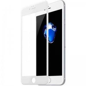 Защитное 3D стекло для iPhone6/6S - Baseus Silk printing, белое