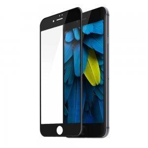 Защитное стекло Baseus silk screen printed full-screen, 0.2мм, глянцевое, черное для iPhone 7