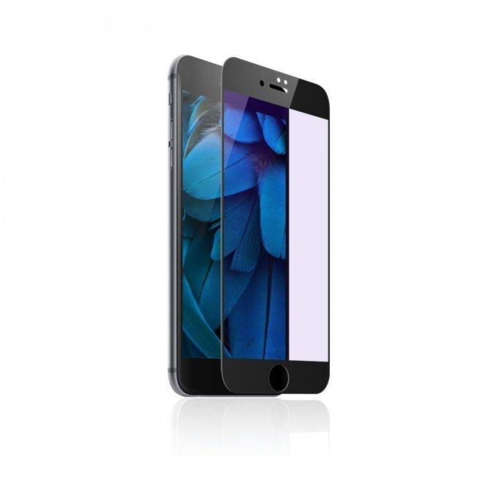 Защитное стекло Baseus Blue Light, защита глаз, черное для iPhone 7 Plus