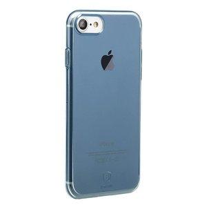 Полупрозрачный чехол Baseus Simple синий для iPhone 8/7