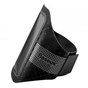 """Спортивный чехол на бицепс Baseus Ultra-thin Sports Armband черный для смартфонов до 4.7"""""""