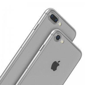 Полупрозрачный чехол Baseus Wing белый для iPhone 8/7
