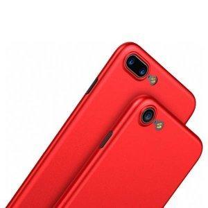 Полупрозрачный чехол Baseus Wing красный для iPhone 8 Plus/7 Plus